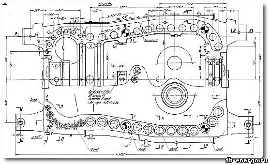 Корпус внешний ЦВД Б-821-01СБ3 турбины К-500-240-2 ХТГЗ