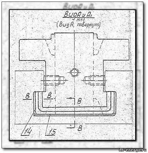 Сопловой аппарат ЦВД паровой турбины К-500-240-2 ХТГЗ - сборочный чертеж