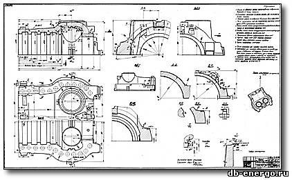 Корпус внутренний ЦВД Б-821-03-01(литейно обдирочный), турбина К-500-240-2 ХТГЗ