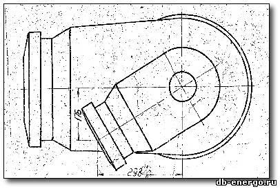 Патрубок паровпуска верхний(левый)Б-821-01СБ9 ЦВД К-500-240-2 ХТГЗ
