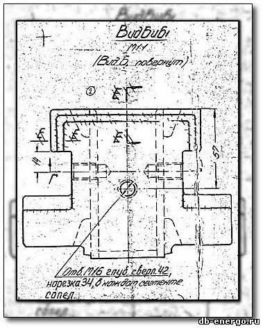 Сопловой аппарат ЦВД паровой турбины К-500-240-2 ХТГЗ - сборочный чертежБ-821-61сб1