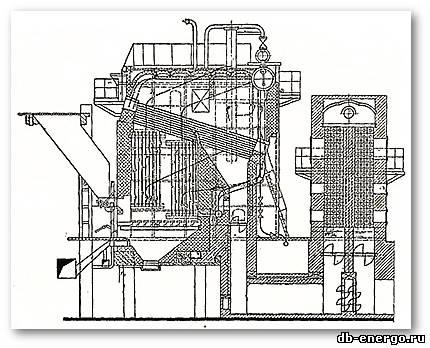 Бузников Е.Ф Циклонные сепараторы в водогрейных котлах 1968