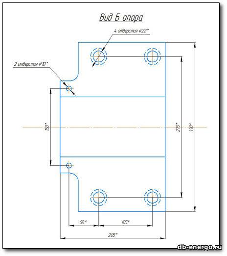Сборочный чертёж импульсного насоса Б-821-40-СБ (Датчик угловой скорости) турбины К-500-240-2 ХТГЗ